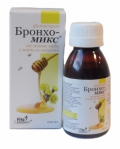 Бронхо-микс фитосироп на основе меда с мать и мачехой, 100мл, Fito Produkt™ фото