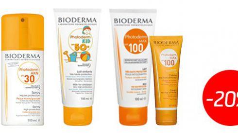 Солнцезащитная косметика Bioderma по специальной цене