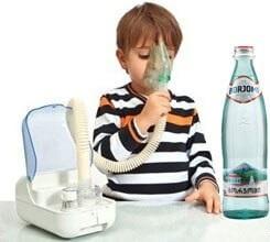 Ингаляции с Боржоми опасны для детей