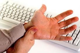 Лечение главных проблем офисного работника - боли в спине, запястье и мигрени