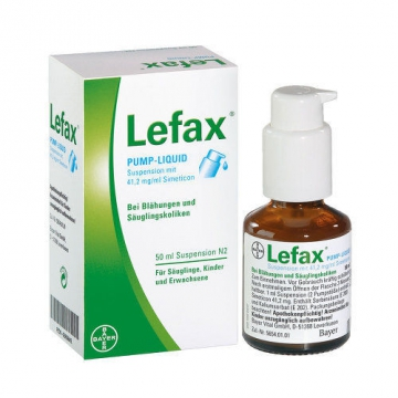 Лефакс – новое немецкое средство от коликов