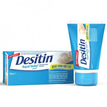 Состав и способ применения крема Деситин от опрелостей