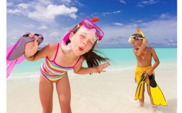 ТОП-5 правил отдыха на море с ребенком
