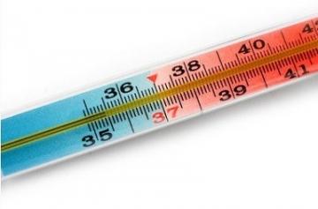 Что делать, если поднялась температура?