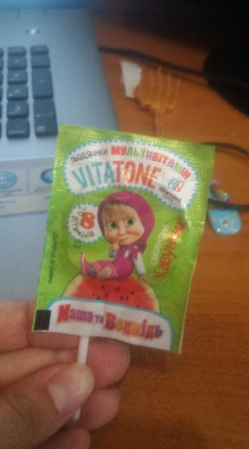 Мультивитаминные леденцы леденцы Vitatone