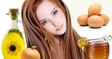 Маска для укрепления и роста волос (народная медицина)