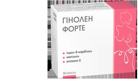 Гинолен - диетическая добавка, необходимая каждой женщине